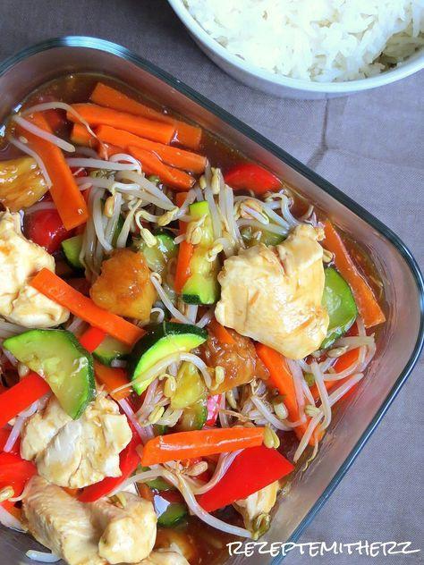 Einmal Chinapfanne zum Mitnehmen.... Nee, die machen wir jetzt selber. Mit viel Gemüse, gesund und lecker. Ihr benötigt: ♡ 1...