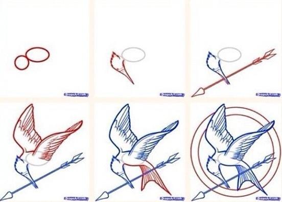 Hunger Games Drawing DIY