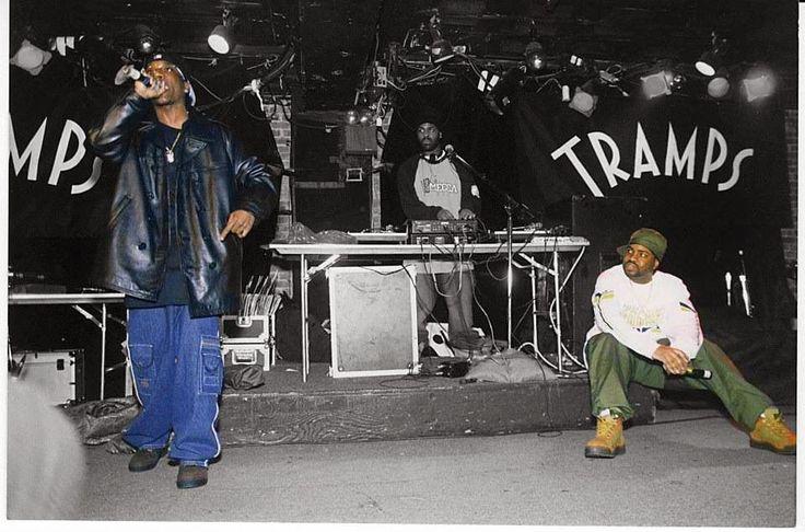 #ClassicPic Big L & Lord Finesse #DITC south bronx hip hop super group D.I.T.C  #DITC