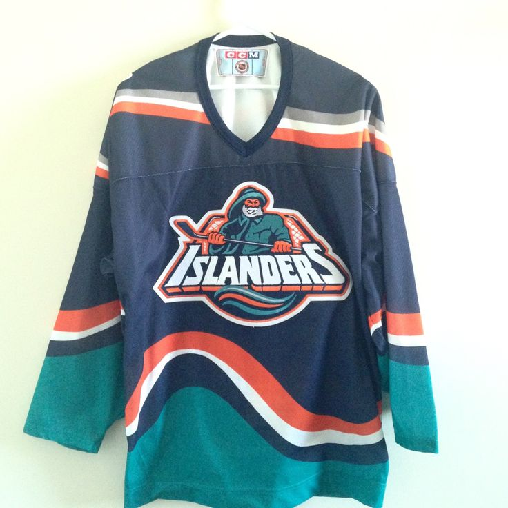 NY Islanders Vintage CCM Hockey Jersey by ThingsIBuyForYou on Etsy