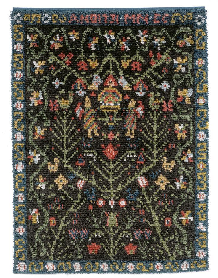 Porvoo-ryijy, wall textile from Käsityön Ystävät