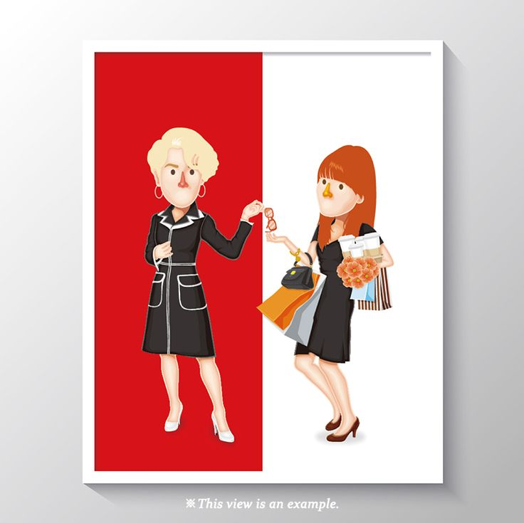 art poster design, art poster for classroom, wall art poster, art poster beautiful, modern art poster, art poster ideas, movie art poster, movie, illustration, illust, drawing art, drawing, The Devil Wears Prada