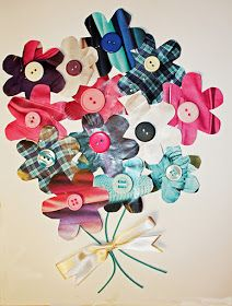 Craft and Other Activities for the Elderly: Make a Junk-Mail Flower Collage!
