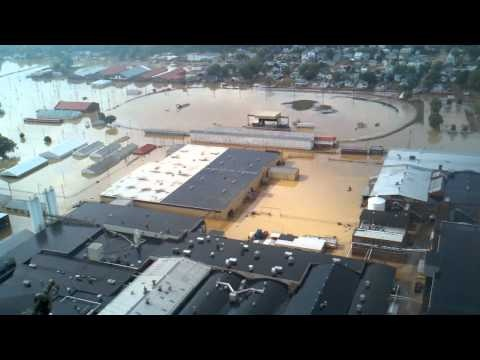Bloomsburg Fair Grounds Flooded 2011