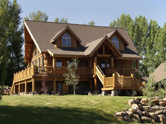 62 best Whisper Creek Log Homes images on Pinterest Log homes Log