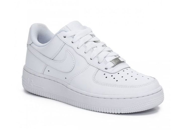 NIKE AIR FORCE 1 LOW WHITE LEATHER 315122-111 MEN Sz US 7 UK 6 EU 40 NEW IN BOX #Nike #FashionSneakers