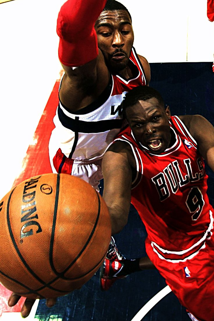 John Wall & Luol Deng. Deng no longer plays for the bulls now he plays for Cleveland