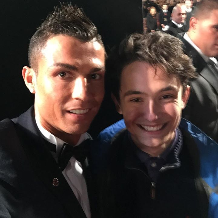 Did you get a selfie with Cristiano Ronaldo on the red carpet at the Ronaldo World Premiere? #fashion #style #stylish #love #me #cute #photooftheday #nails #hair #beauty #beautiful #design #model #dress #shoes #heels #styles #outfit #purse #jewelry #shopping #glam #cheerfriends #bestfriends #cheer #friends #indianapolis #cheerleader #allstarcheer #cheercomp  #sale #shop #onlineshopping #dance #cheers #cheerislife #beautyproducts #hairgoals #pink #hotpink #sparkle #heart #hairspray…