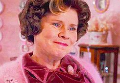 Which 'Harry Potter' villain are you?  -  You got, Dolores Umbridge - You are extremely type A and you can only thrive in strict and orderly environments. You're not too keen on social interactions, but that's fine because cats are way better than people anyway. People have often underestimated you because of your sweet-looking disposition, but you've quickly set them straight. Keep the sunny disposition, it keeps people guessing.