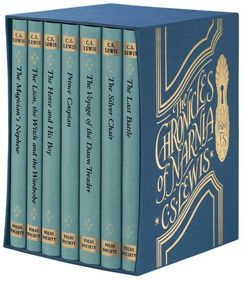 "A beautiful hardback collection of the ""Narnia"" collection!  -KWA"