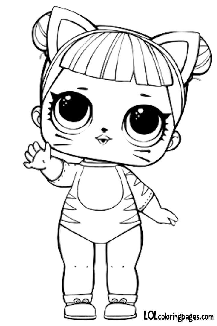 LOL Doll Kitty Queen Kolorowanka