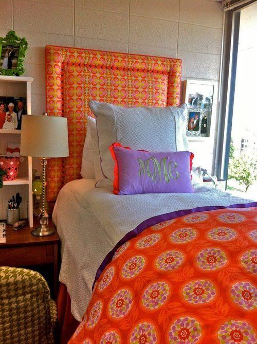 17 Best images about Orange Living on Pinterest  Orange  ~ 151144_Orange Dorm Room Ideas