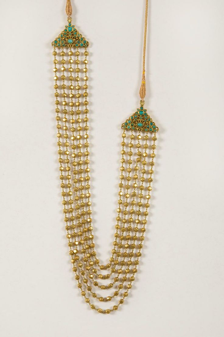 Pai jewellers gold necklace designs latest indian jewellery designs - A Gold Necklace Kanta Tudar