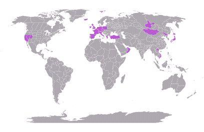 Ik heb 5.48% van de wereld ontdekt #mytravelmap