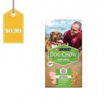 Print this new $4/1 Purina Naturals coupon and score a bag of dog food for just $0.99!