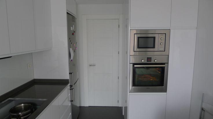 Vista fondo puerta cocina