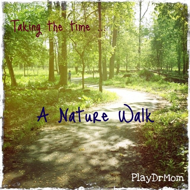 Taking the time ... for a nature walk