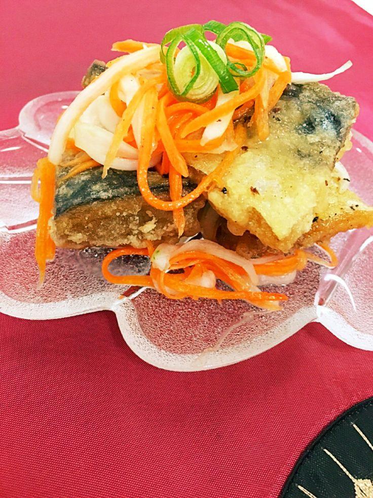我が家の定番☆塩サバで南蛮漬け by ツーさんママ [クックパッド] 簡単おいしいみんなのレシピが267万品