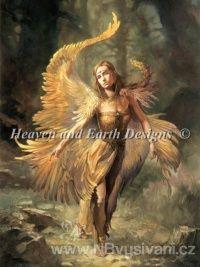 HAED - Firebird (Aida 18ct)