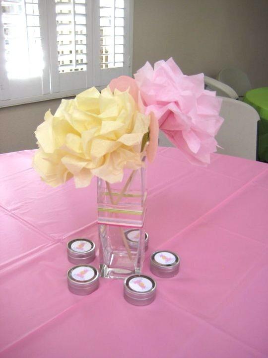 butterfly garden party kids table centerpiece idea shower centerpiecescenterpiece ideaswedding