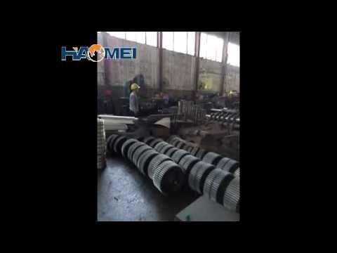 concrete mixing station workshop video