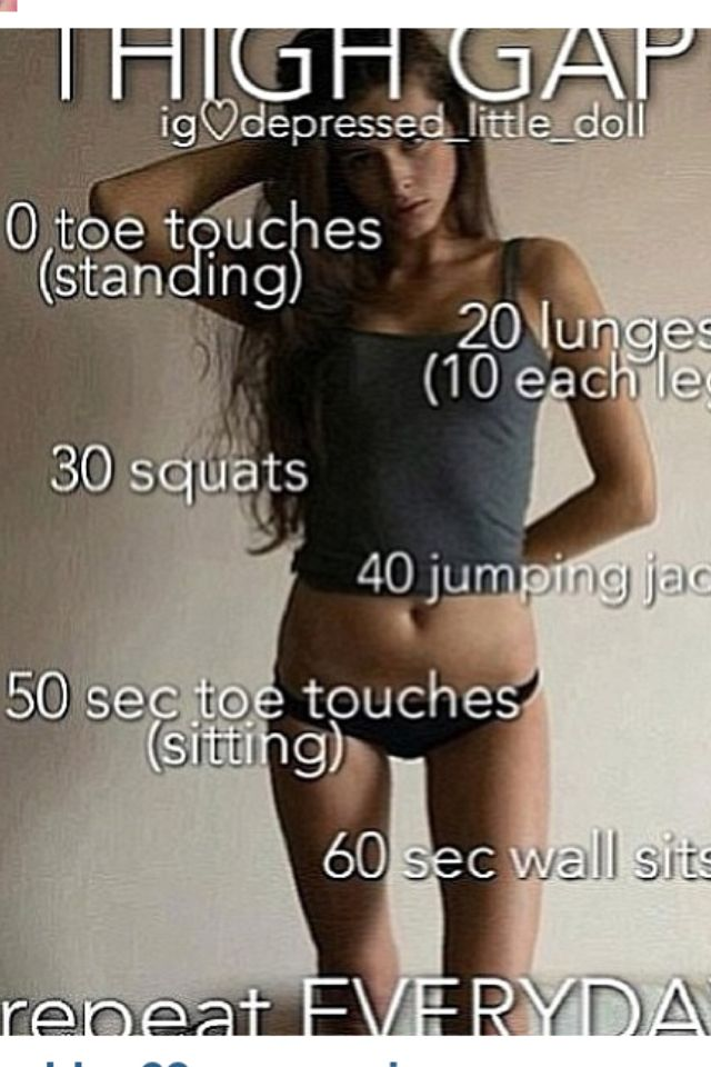 Thigh gap(: MUST DO!