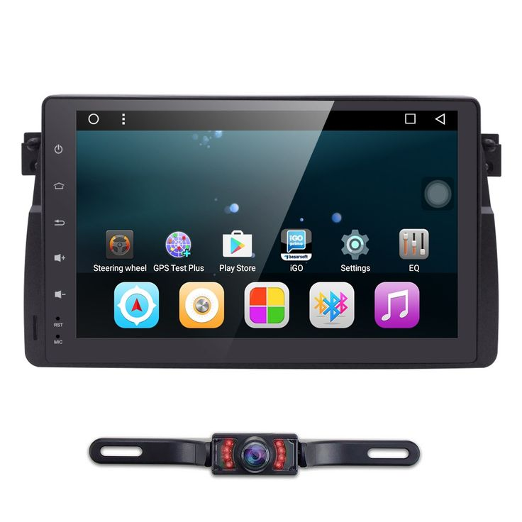 """Buy online US $299.89  4G 9""""Android6.0 Octa Core Head Unti Car DVD Player For BMW E46 M3 MG ZT 3 Series Rover 75 GPS Navi Radio Stereo 1GB RAM 16GB ROM"""