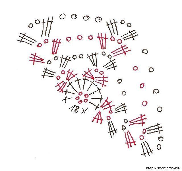 схемы для обвязки крючком пасхальных яиц  (3) (640x600, 123Kb)