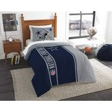 Use this Exclusive coupon code: PINFIVE to receive an additional 5% off the Dallas Cowboys NFL Twin Comforter Set at SportsFansPlus.com