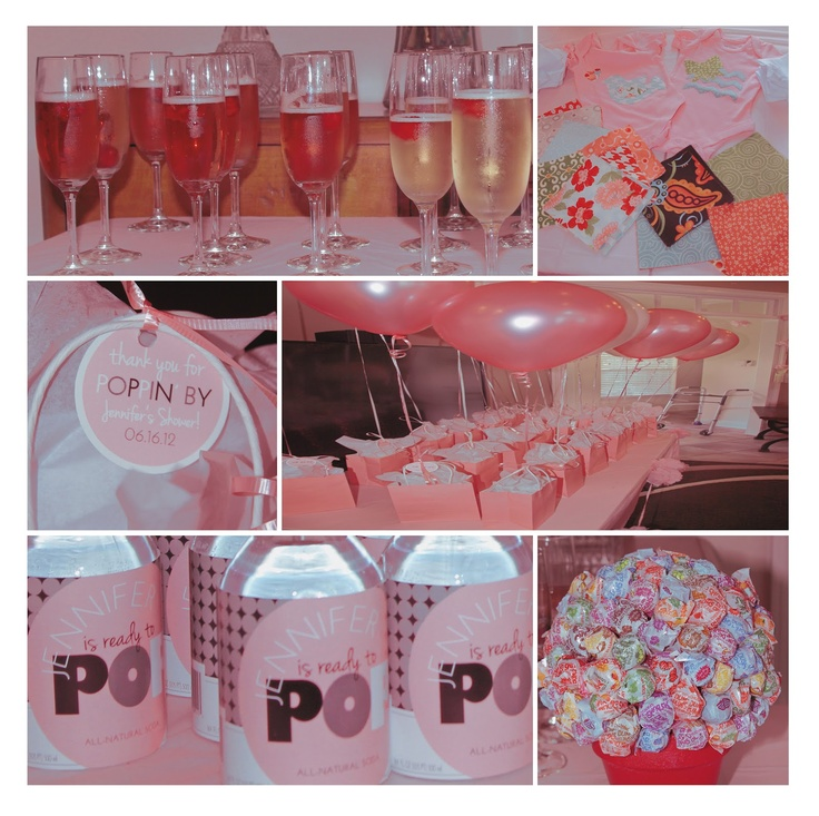 she 39 s ready to pop themed baby shower baby shower decorations