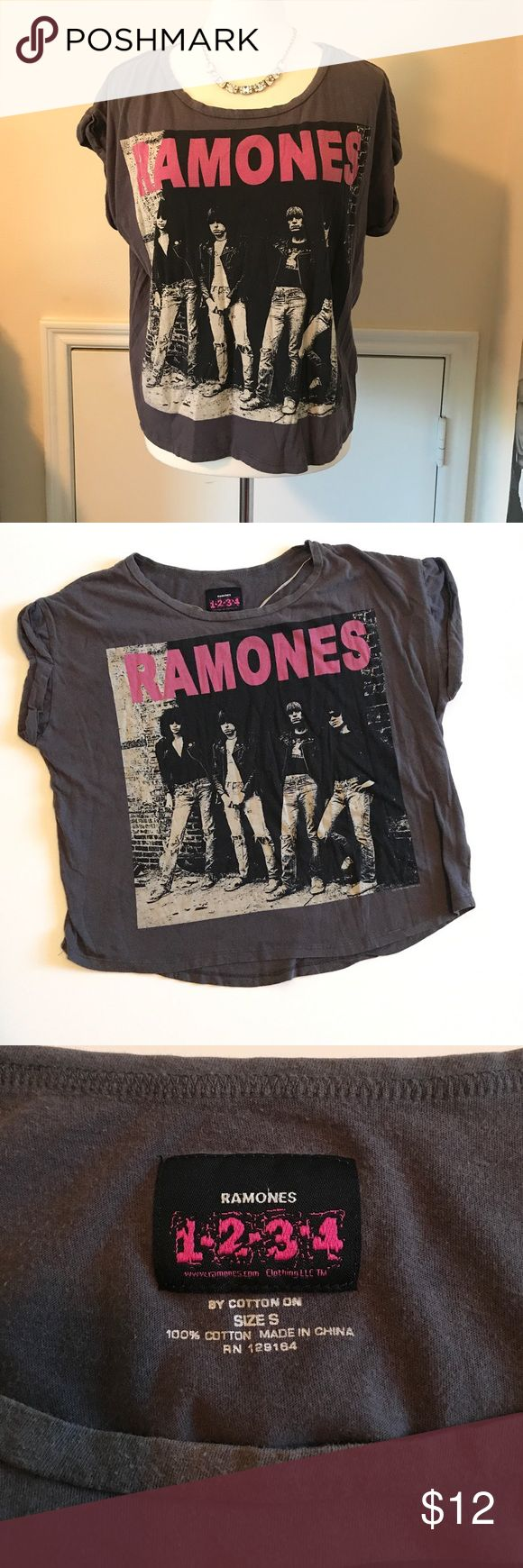 Ramones shirt by Cotton on Very comfortable shirt in excellent conditions. 100% cotton. Cotton On Tops Tees - Short Sleeve