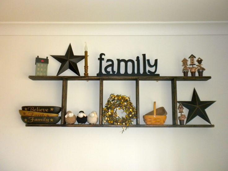 Simply Primitive Decorating Ideas | ... condition, and make excellent primitive displays mounted on a wall