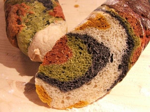 Pane arcobaleno di Sara Papa  http://www.alice.tv/pane/pane-arcobaleno
