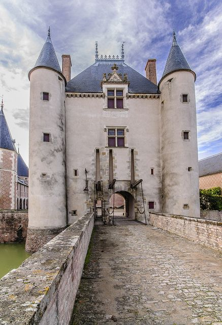 Château de Chamerolles,  sur la commune de Chilleurs-aux-Bois, dans le département du Loiret, région Centre, France