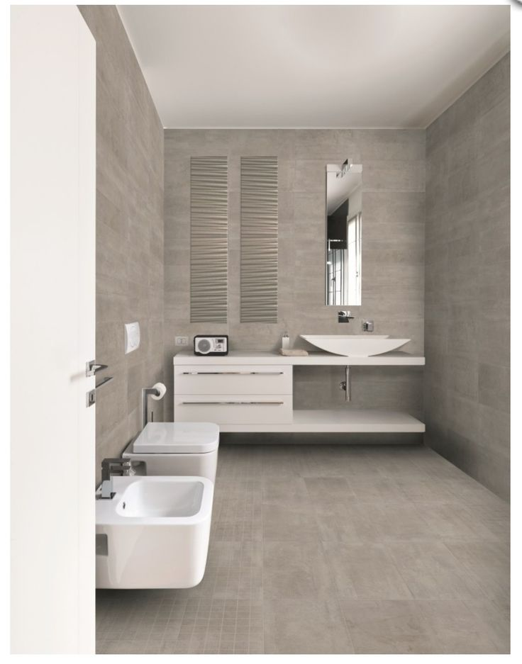 The tiles are Cement It grey from Galileo. Our new bathroom tiles!