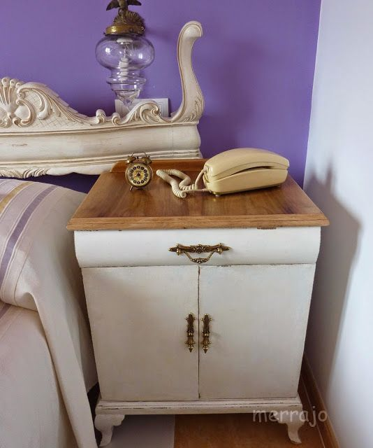Manualidades merrajo & yoli: Mesilla vintage, restaurada