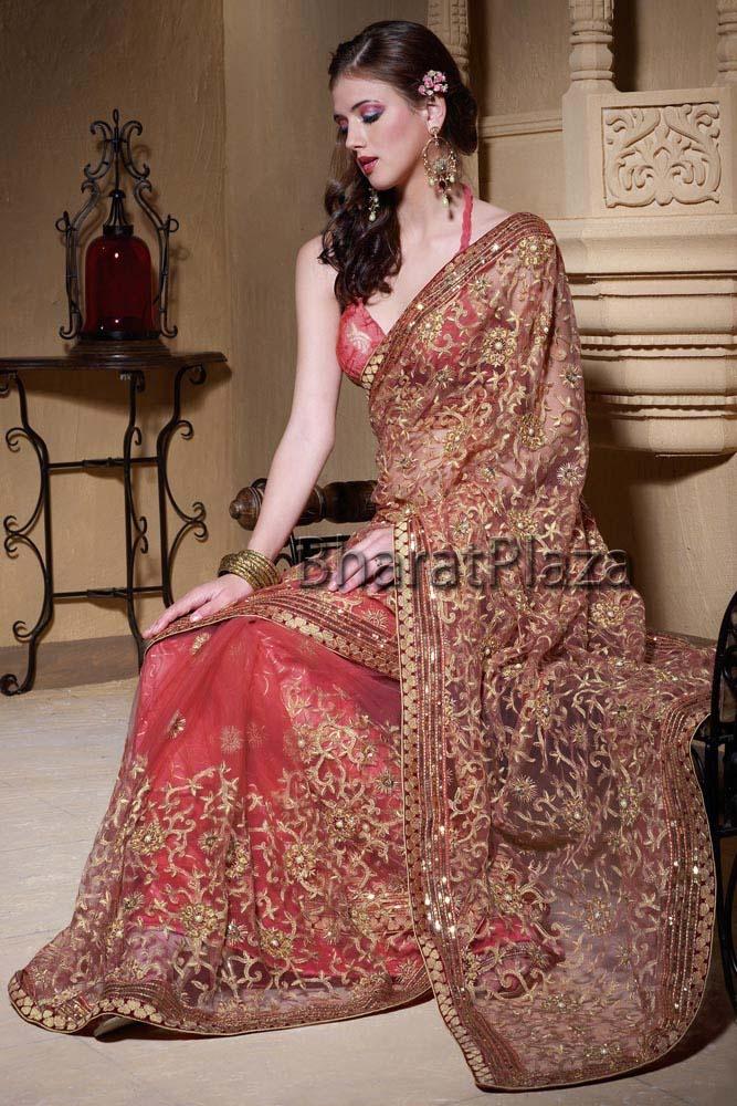 Impressive Heavy Pallu Saree  Item code  : BSPT411  http://www.bharatplaza.com/womens-wear/best-of-our-collections/impressive-heavy-pallu-saree-bspt411.html http://www.facebook.com/bharatplazaportal https://twitter.com/bharat_plaza