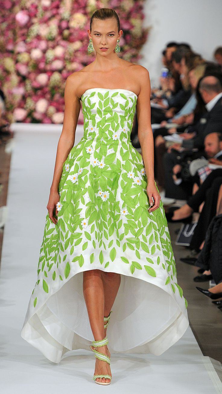 Oscar de la Renta Spring/Summer 2015 via @stylelist I want it all! Be sure to check out the shoes.