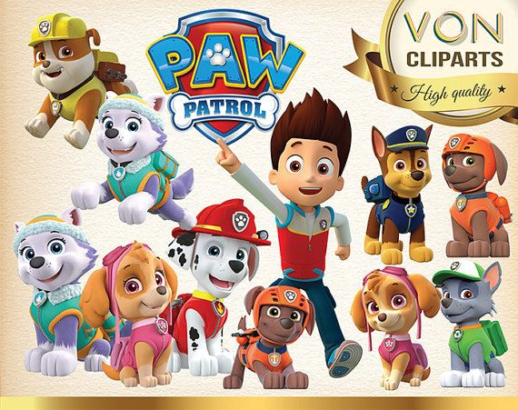 Hey, I found this really awesome Etsy listing at https://www.etsy.com/listing/261210412/sale-25-paw-patrol-digital-graphic-image