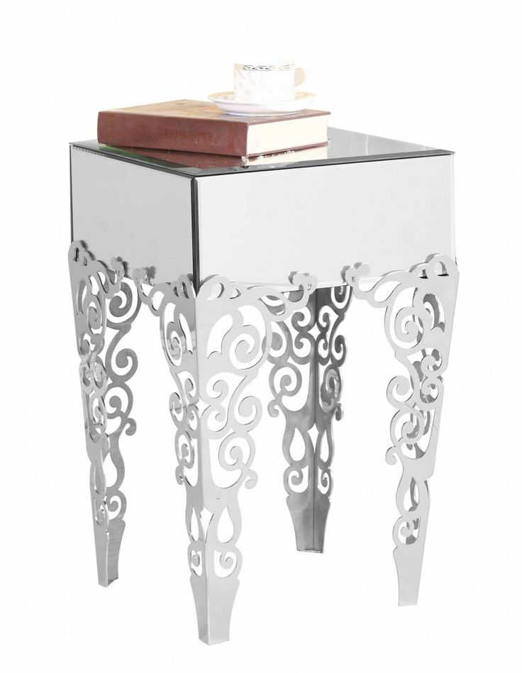 Good A Sleek And Stylish Mirrored End Table From Elegant Lighting #sohomod