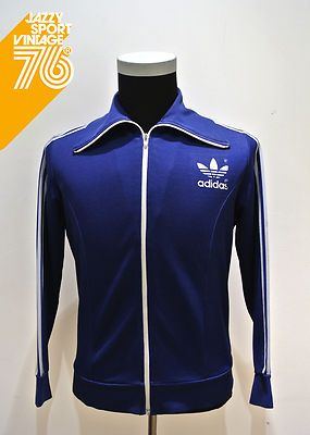 Vintage 70s  Adidas Retro Tracksuit Top Jacket
