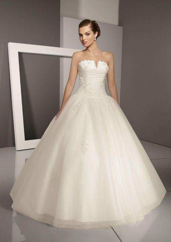 Модель свадебного платья Бальное