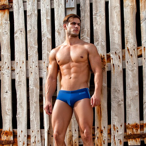This RIVIERO BRAZILLIAN SUNGA BRIEF is bound to make a big impression with its…