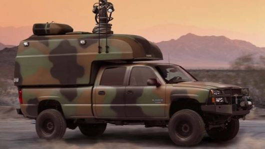 Military Diesel Hybrid Truck Features a Fuel Cell Auxiliary Power