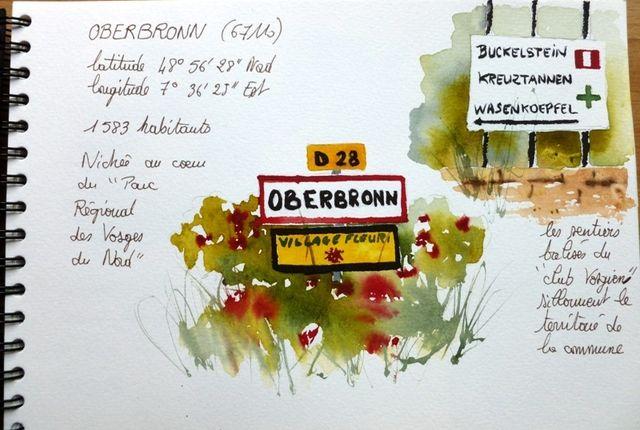 carnet de Voyage à Oberbronn  Fanchon