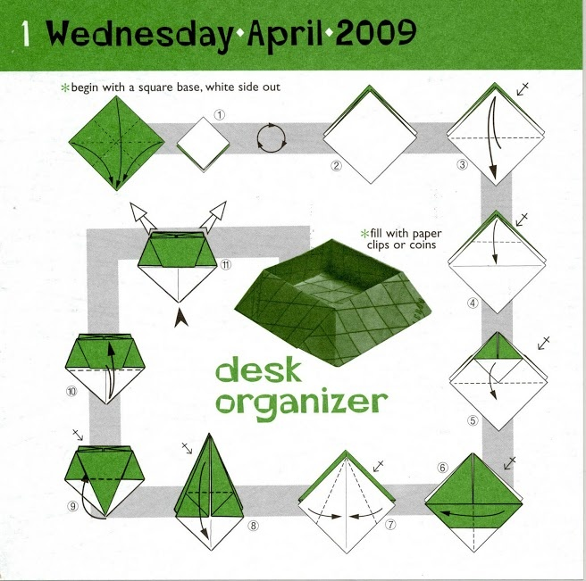 472 best images about origami on pinterest origami paper - Origami desk organizer ...