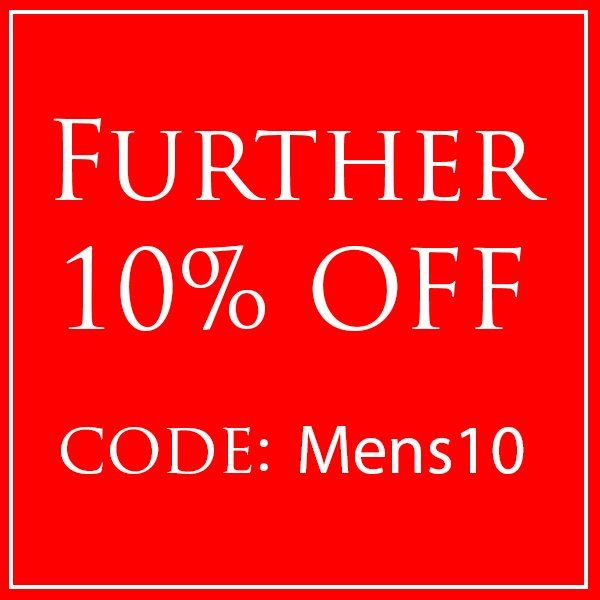 Men's MEGA Watch SALE ends 20/3/17! Extra 10% Off ALL SALE PRICES. Code: Mens10