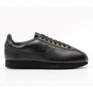 51c4c145fcc Tenis Nike Classic Cortez Leather Negros Nuevo 749571 002
