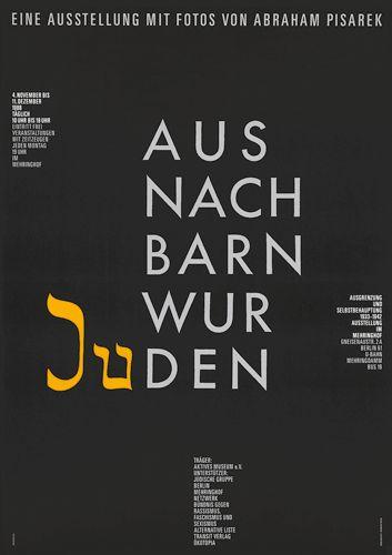 Aus Nachbarn wurden Juden / / Ott+Stein 1988