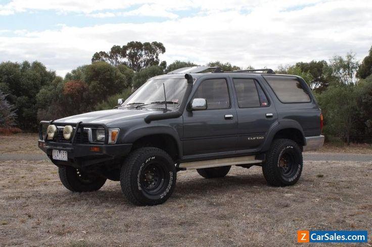 1993 Toyota Hilux Surf 4X4 Turbo Diesel #toyota #hilux #forsale #australia